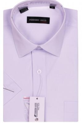 Классическая однотонная белая рубашка (Арт. SKY 1062K)