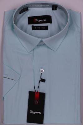 Молодежная однотонная рубашка (Арт. SDK 5410K)