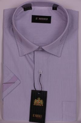 Рубашка в полоску с декоративным воротником (Арт. SDK 4774K)