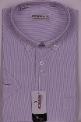 Рубашка в полоску с декоративным воротником (Арт. SKY 0748K)