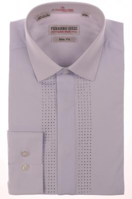 Вечерняя белая рубашка (Арт. SDK 2695)