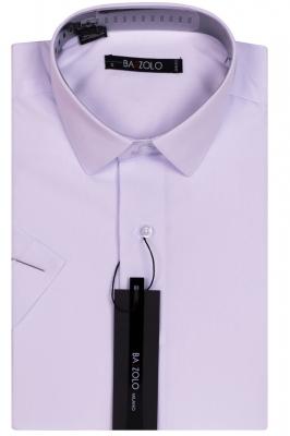 Однотонная белая рубашка (Арт. SKY 1045K)