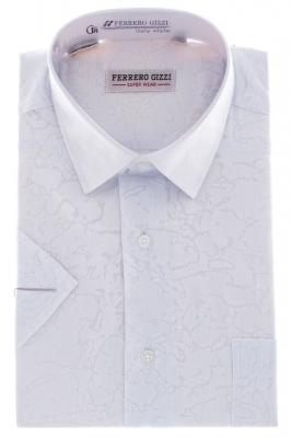 Рубашка классическая с декоративным рисунком  (Арт. SDK 5424К)