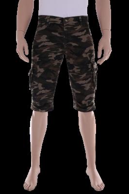 Мужские шорты с накладными карманами (Арт. SHORTS 0029)