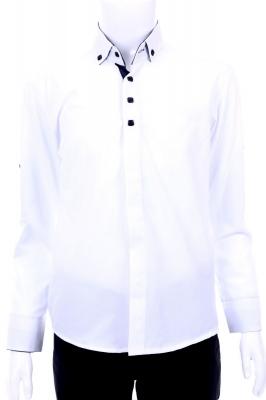 Детская рубашка с декоративной планкой (Арт. TB 1446)