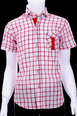 Детская рубашка в клетку (Арт. B T 0582K)