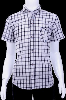 Детская рубашка в клетку (Арт. B T 0581K)