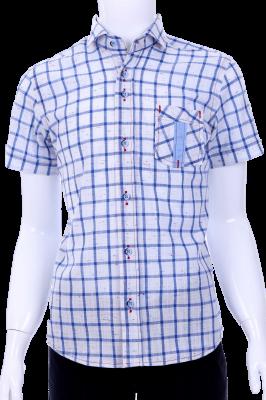 Детская рубашка в клетку (Арт. B T 0580K)