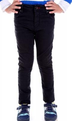 Стильные джинсы для мальчика черного цвета (Арт. DJ 1569)