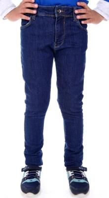 Стильные джинсы для мальчика синего цвета  (Арт. DJ 1570)
