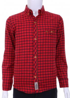 Хлопковая рубашка для мальчика (Арт. ТВ 1709)
