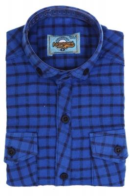 Хлопковая рубашка в клетку для мальчика  (Арт. ТВ 1722)