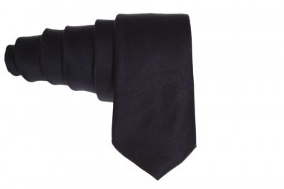 Галстук черный для мужчины (Арт. GS 52)