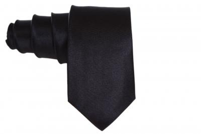 Галстук черный для мужчины (Арт. GS 53)