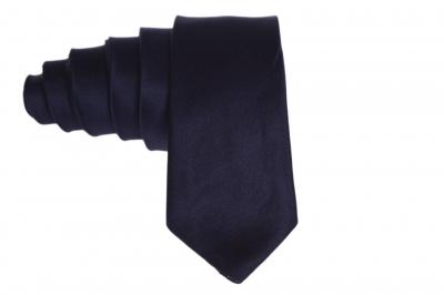 Галстук темно-синий для мужчины (Арт. GS 55)