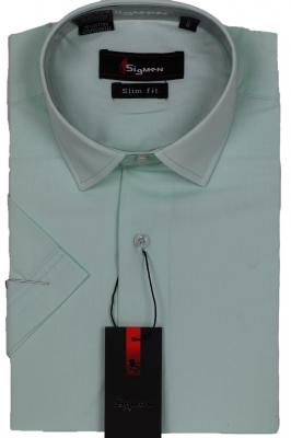 Молодежная однотонная рубашка (Арт. SDK 5487K)