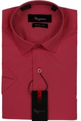 Молодежная однотонная рубашка (Арт. SDK 5483K)