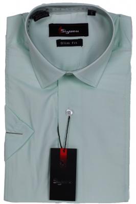 Молодежная однотонная рубашка (Арт. SDK 5479K)