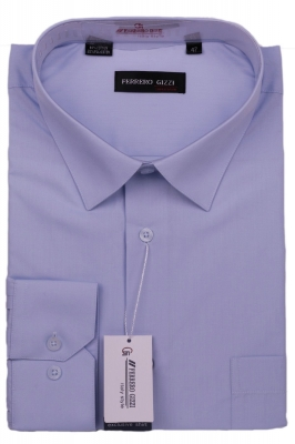 Мужская рубашка однотонная (Арт. SKY 1142B)