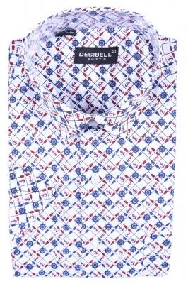 Классическая рубашка с рисунком (Арт. SDK 5362K)