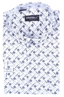 Классическая рубашка с рисунком (Арт. SDK 5363K)