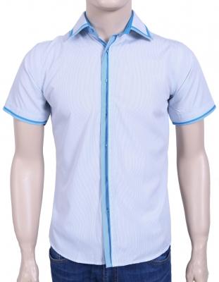 Рубашка в полоску с декоративным воротником (Арт. SDK 5298K)