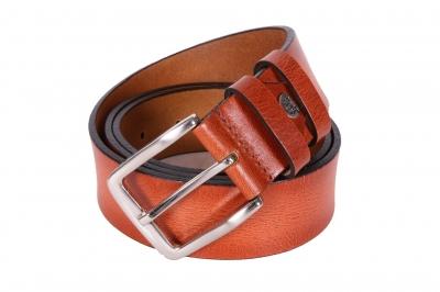 Мужской кожаный ремень  (Арт. REM-19)