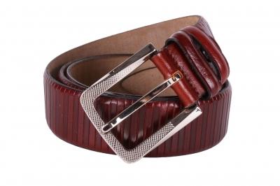 Мужской кожаный ремень  (Арт. REM-39)