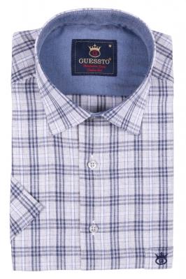 Мужская рубашка с коротким рукавом (Арт. T 2363K)