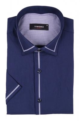 Классическая рубашка с коротким рукавом (Арт. T 2373K)