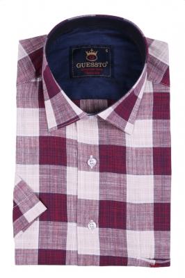 Классическая рубашка с коротким рукавом (Арт. T 2414K)
