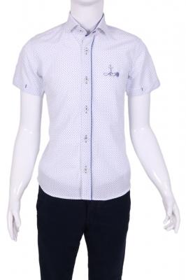 Детская  рубашка в мелкий горох (Арт. TB 1338K)