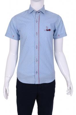 Детская  рубашка в мелкий узор (Арт. TB 1340K)