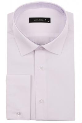 Молодежная белая рубашка (Арт. T 0735)