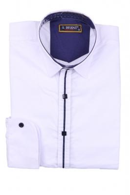 Детская комбинированная рубашка (Арт. TB 2578)