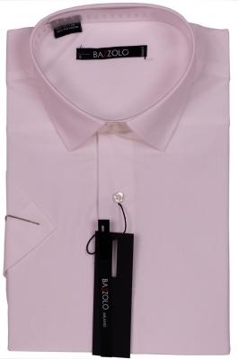 Молодежная однотонная рубашка цвета айвори  (Арт. SDK 5988K)