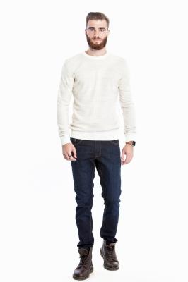 Мужской кремовый свитер (Арт. POS 2703)