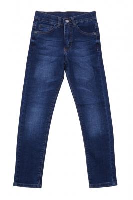 Стильные джинсы для мальчика синего цвета (Арт. D-JEANS 2836)