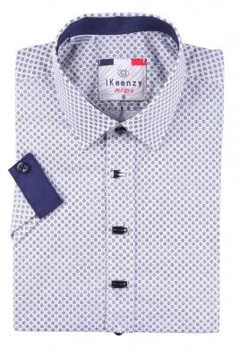 Детская рубашка с коротким рукавом (Арт. B SKY 2124K)