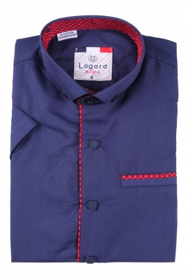 Детская рубашка с коротким рукавом (Арт. B SKY 2192K)