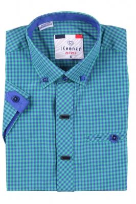 Детская рубашка с коротким рукавом (Арт. B SKY 2501K)