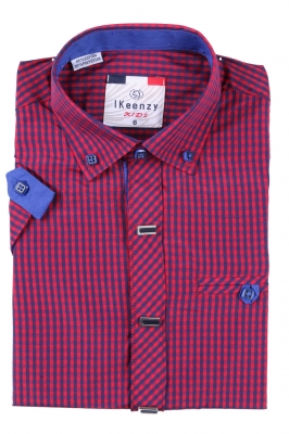 Детская рубашка с коротким рукавом (Арт. B SKY 2502K)