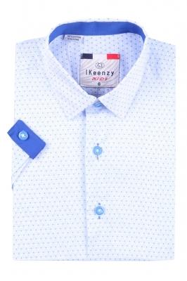 Детская рубашка с коротким рукавом (Арт. B SKY 2565K)