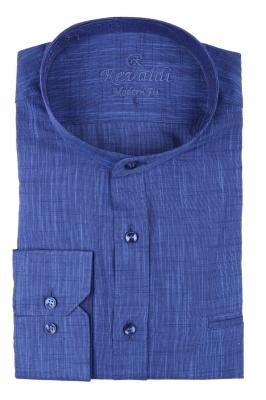 Молодежная однотонная рубашка, длинный рукав трансформер (Арт. T 3128)