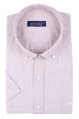Классическая рубашка с коротким рукавом (Арт. T 3149K)