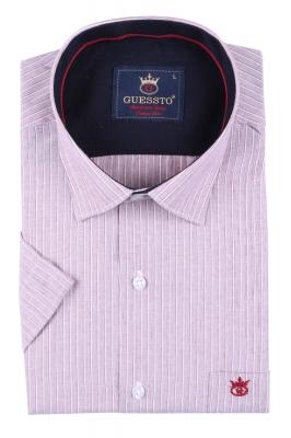 Мужская классическая рубашка, короткий рукав  (Арт. T 3167К)