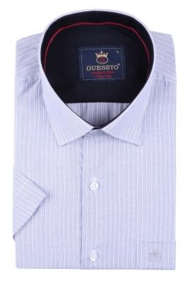 Мужская классическая рубашка, короткий рукав  (Арт. T 3168К)
