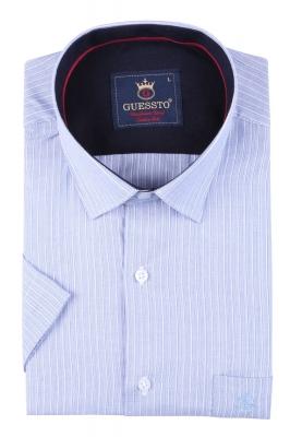 Мужская классическая рубашка , короткий рукав  (Арт. T 3169К)