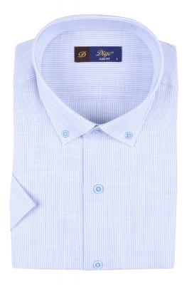 Мужская рубашка в полоску, короткий рукав  (Арт. T 3306К)