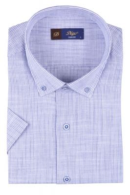 Мужская рубашка в полоску, короткий рукав  (Арт. T 3307К)
